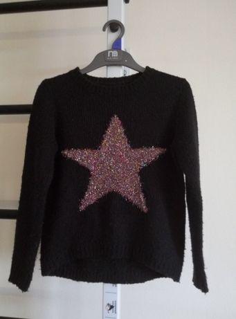 Стильный свитер на девочку 140 см