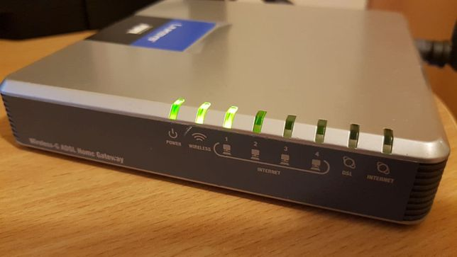 Router ADSL linksys wag200g