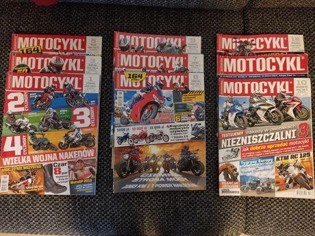 Motocykl 2014 miesięcznik + gratis