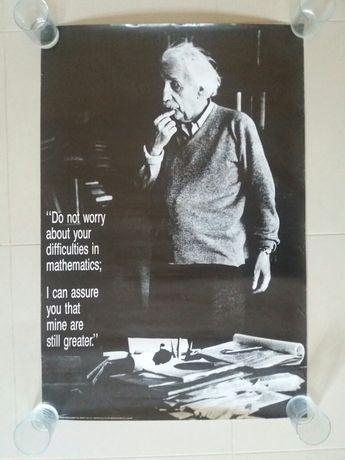 Poster Einstein para Centros de Estudos / Explicações