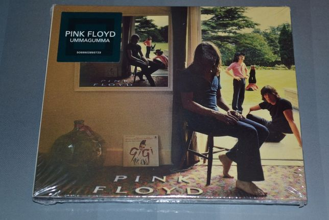 Pink Floyd «Ummagumma» (1969) 2CD Фирменный! Запечатанный!