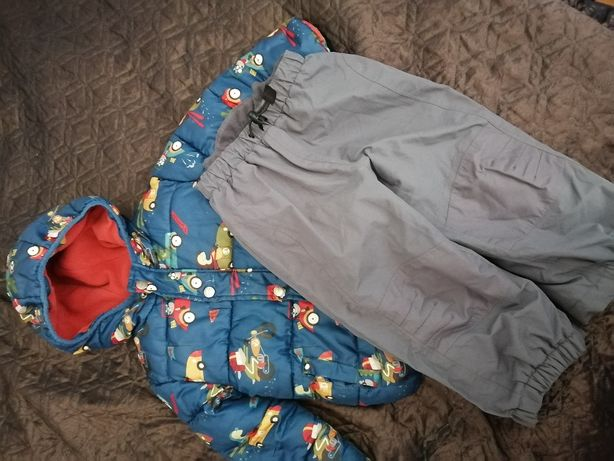 Теплая куртка для мальчика фирмы next+штаны в подарок