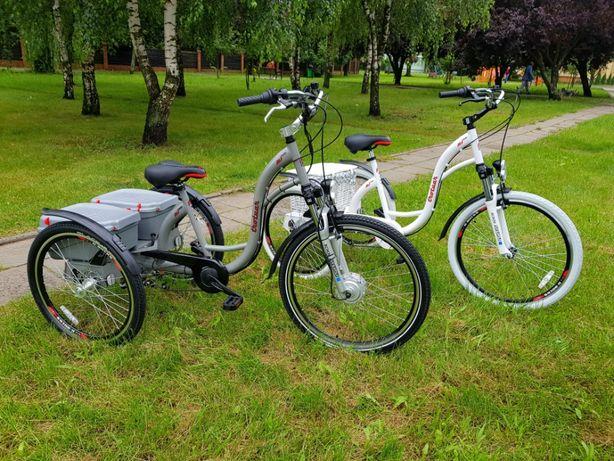 Rower trójkołowy elektryczny 250W36V Producent Polska
