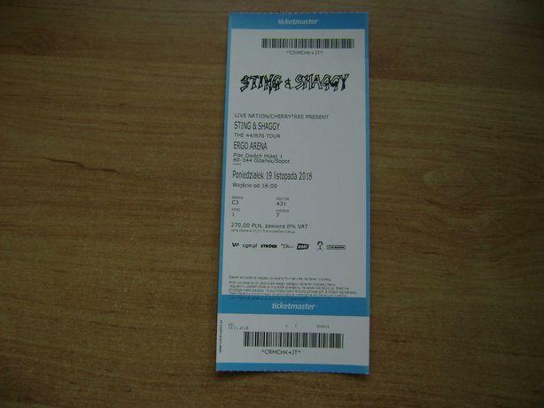 Starocie z PRL - Bilet na koncert STING & Shaggy 19.11.2018r.