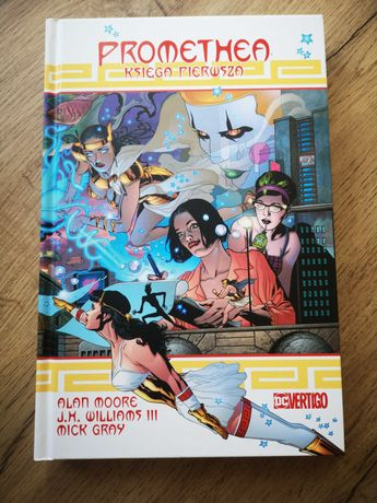 Komiks Promethea. Księga pierwsza, Alan Moore