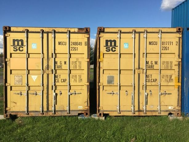 Kontener kontenery morski magazynowy 20 DV 6m - 5600 PLN