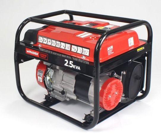 Gerador, AVR, 2.5Kva, 15L - MADER® | Power Tools