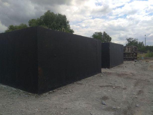 Zbiornik na gnojówkę gnojowicę deszczówkę szamba betonowe 6m3 szambo