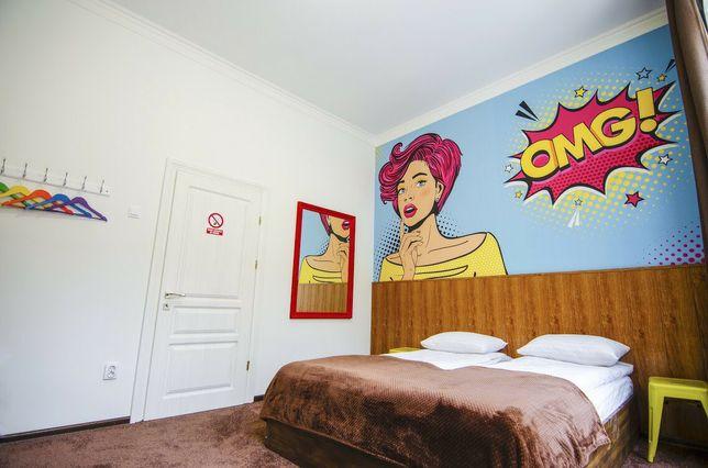 Мережа хостелів центрі Львова Pop Art Hostel