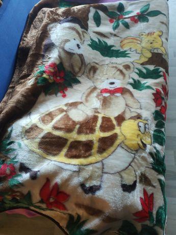 Плед одеяло детское