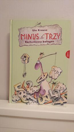 Książka dla dzieci Minus Trzy Rachunkowy bałagan.