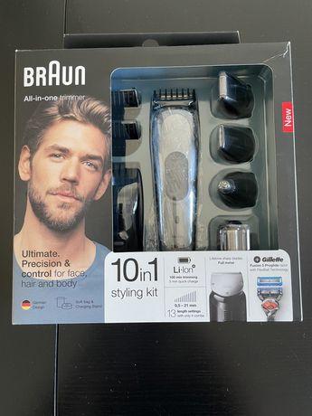 Aparador cabelo e  barba e bodygroom Braun como nova