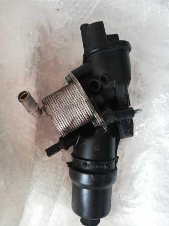 Audi a3 8p 2.0fsi podstawa filtra oleju z chłodnicą