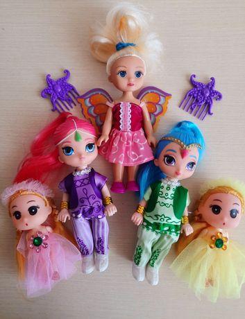 Куколки   разные .