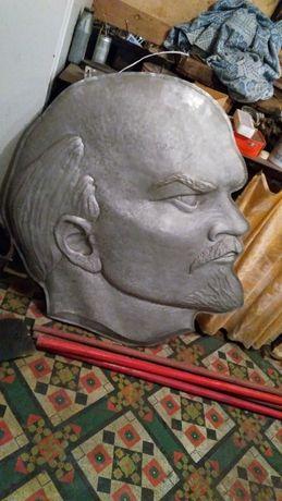 Продам чеканка Ленин