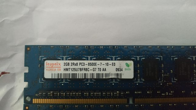 Hynix Память DDR3 2 gb (2х4)