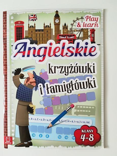 Nowa książka Angielskie krzyżówki i łamigłówki