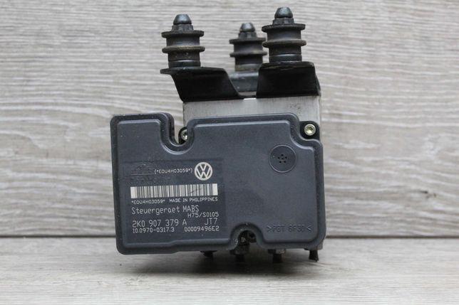 Блок управления АБС ABS 1K0907379A VW Caddy Фольксваген Разборка