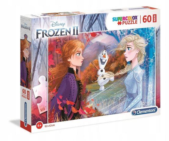Puzzle Clementoni Super Color Frozen 2 Maxi 60 el.