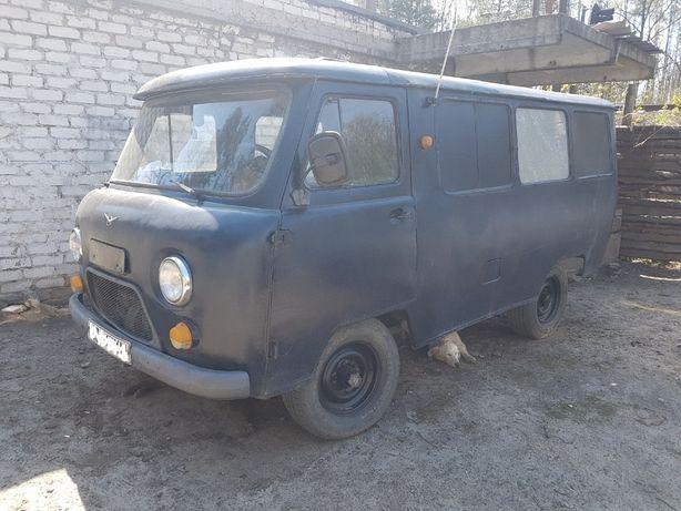 УАЗ 452 Лек на ходу