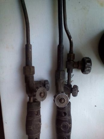 Горелка и резак к газосварочному аппарату