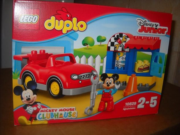 LEGO Duplo 10829 - Warsztat Myszki Mickey - Nowy - Oryginal