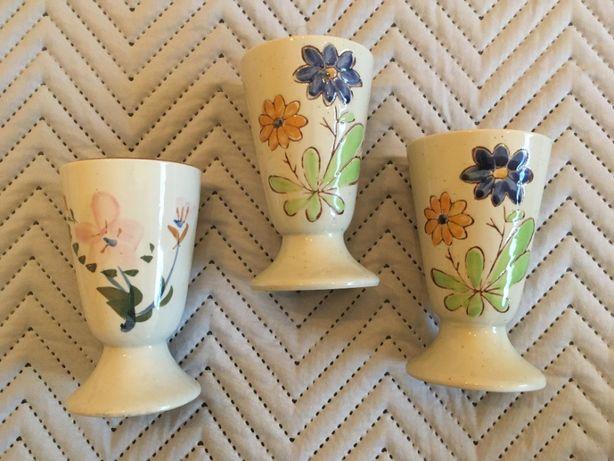 3 Copos em porcelana - Vintage/Antigos Decor
