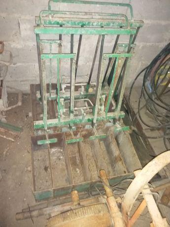 Wózek do produkcji Pustków i bloczków