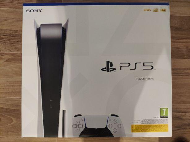 Konsola PS5 Playstation 5 Nowa Dostępna od ręki Nieotwierana