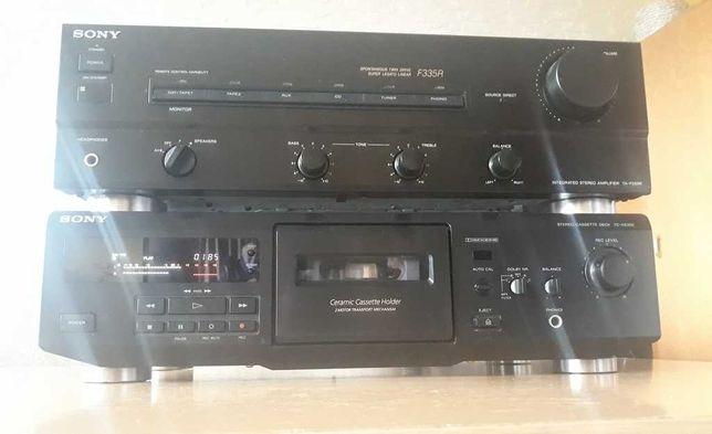 magnetofon cassette  deck sony