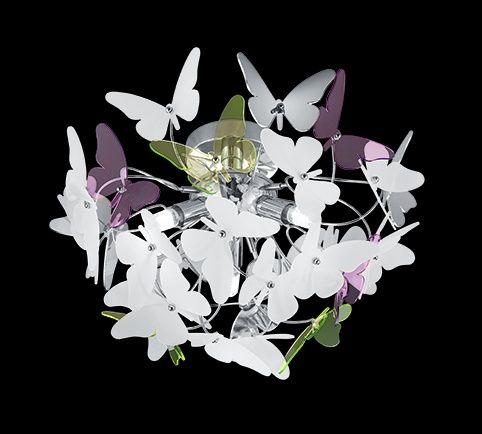 Lampa sufitowa motylki