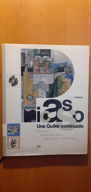 Picasso Ciągłe poszukiwania ( wydanie w języku francuskim)