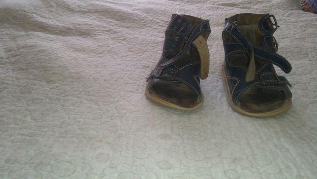 Ортопедические сандали для мальчика 4 - 5 лет