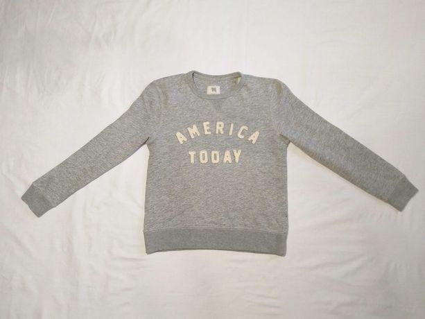 Толстовка свитшот кофта America today 146 - 152 см 10-12 лет UK 30/32
