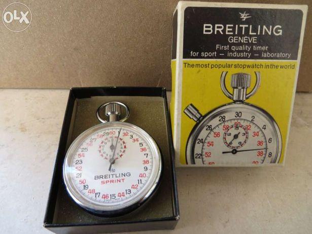 Cronómetro vintage da marca breitling - caixa original