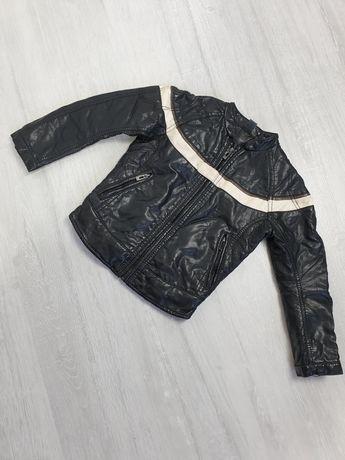 Детская куртка кожанка Zara kids