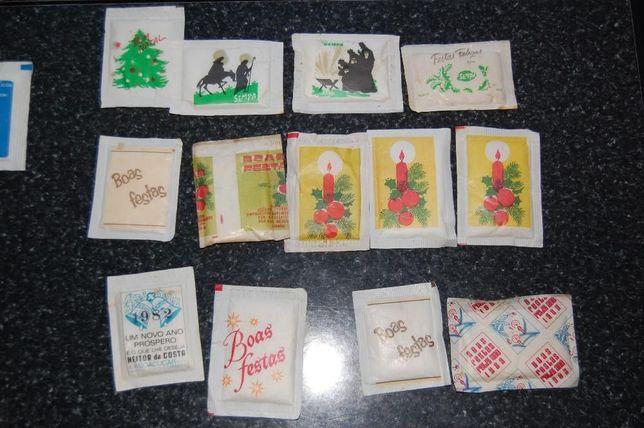 pacotes de açúcar Boas Festas