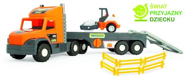 Wader Auto Super Tech Truck laweta z walcem
