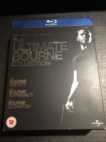 The ultimate Bourne collection DVD Blu-Ray box set