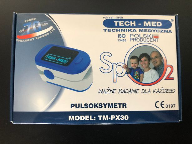 NOWY Pulsoksymetr Tech-Med TM-PX30