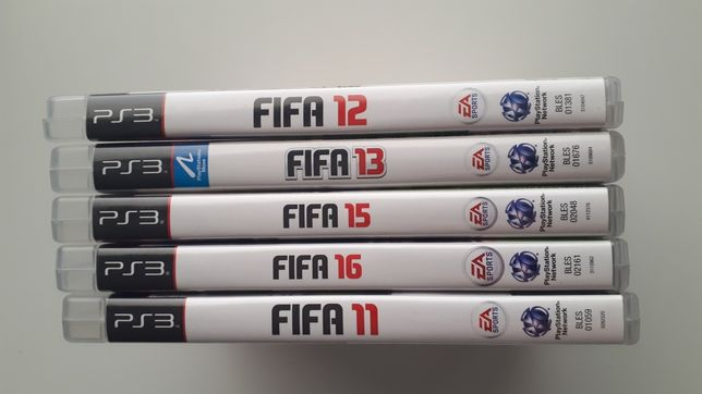 Gry Fifa 12 i 15 na PS 3