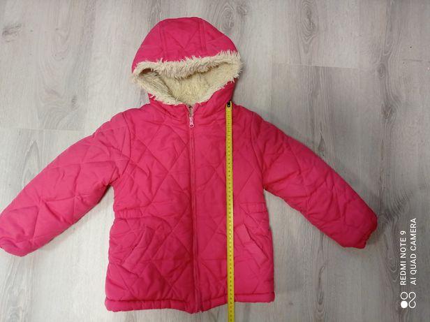 Куртка зимняя для девочки р.104-110 Gloria Jean's