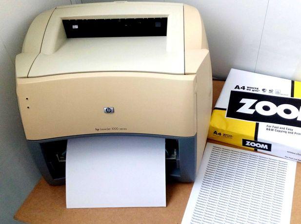 Лазерный принтер hp laserjet 1000 series