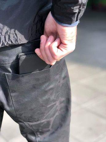Зажим для денег с магнитами. Кожаный кошелек. Зажим ручной работы.