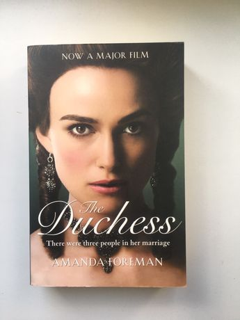 Книга на английском The Duchess by Amanda Foreman
