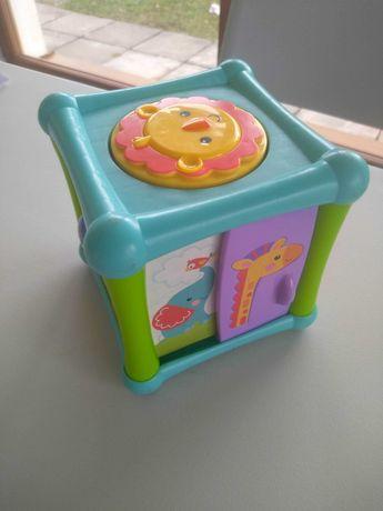 Kostka edukacyjna Fischer Price zabawka dla niemowlaka