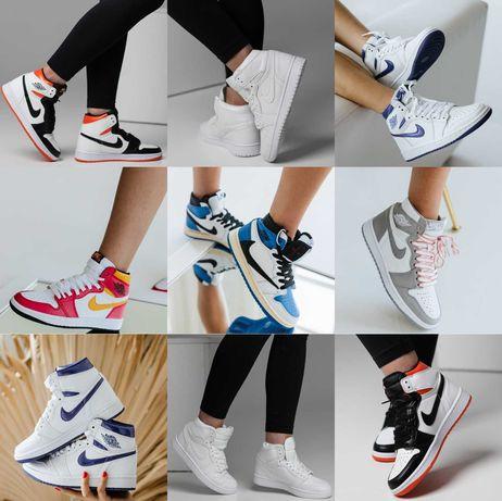 Кроссовки Nike Air Jordan 1 Retro 36-46 Хит Осени 2021! Топ