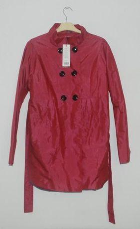 Jesienny krótki płaszcz ciążowy Happy Mum r. L