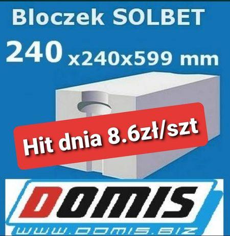 Solbet 24 P+W beton komórkowy PROMOCJA!