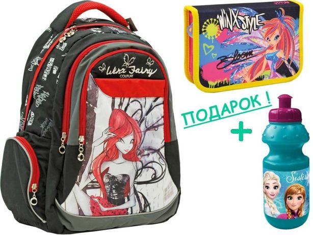 Рюкзак и пенал Winx - Винкс Кутюр, ТМ YES! девочки 2, 3, 4, 5 класс